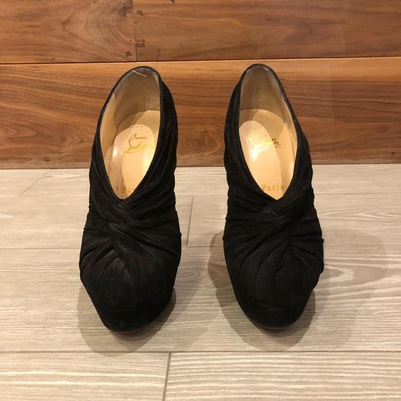 Christian Louboutin Shoes - Christian Louboutin suede booties 37